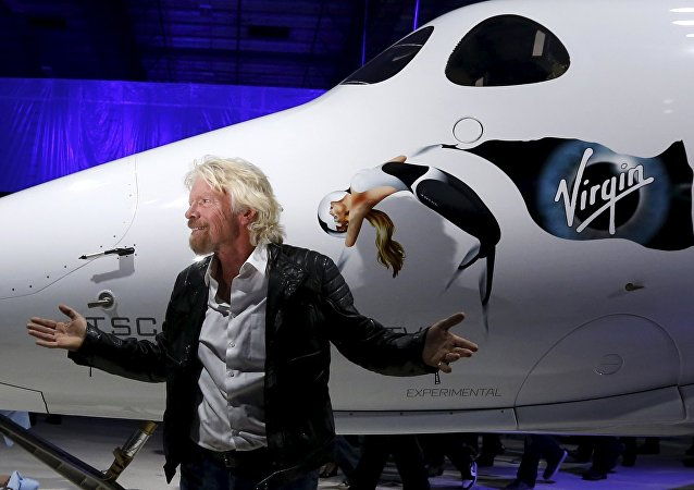 Richard Branson, multimillonario británico y fundador del conglomerado Virgin Group