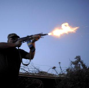 Un soldado de las fuerzas armadas de Ucrania en la región de Donetsk