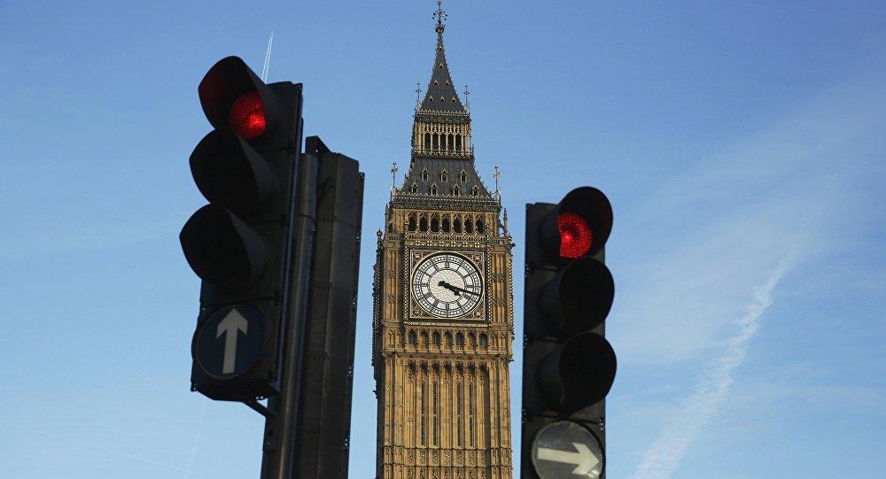 El reloj del Big Ben, en Londres