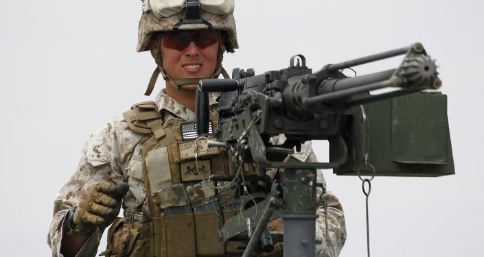 Un militar estadounidense (imagen referencial)
