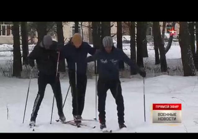"""Africanos """"van de reconocimiento"""" esquiando por Siberia"""