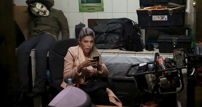 Gabriela Zapata, expareja de presidente boliviano Evo Morales