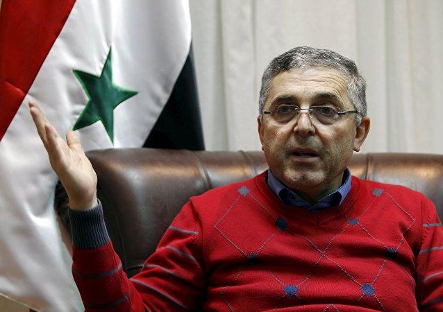 Ali Haidar, ministro sirio para la Reconciliación Nacional