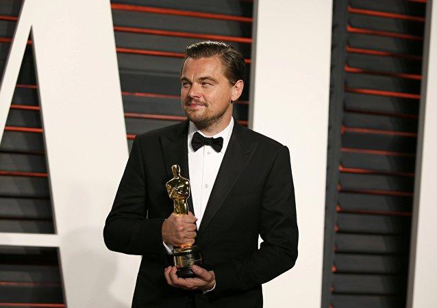 Leonardo DiCaprio, galardonado con el premio Óscar
