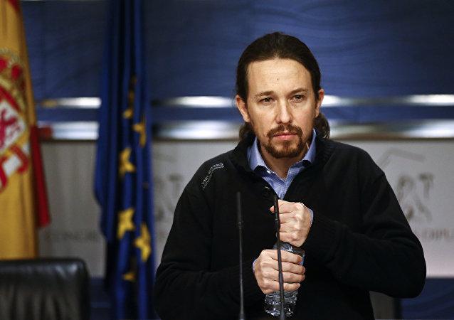 Pablo Iglesias, el líder de Podemos