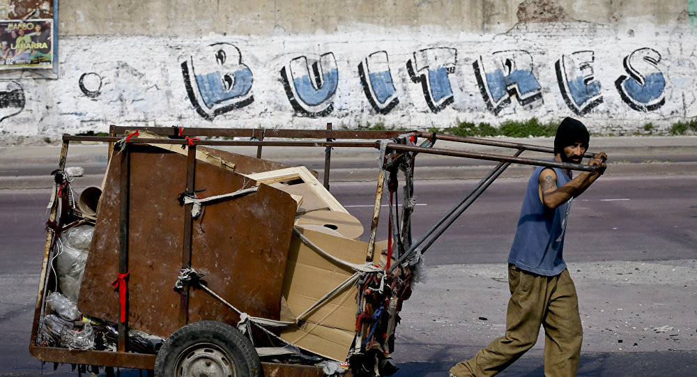 Argentina y fondos buitre
