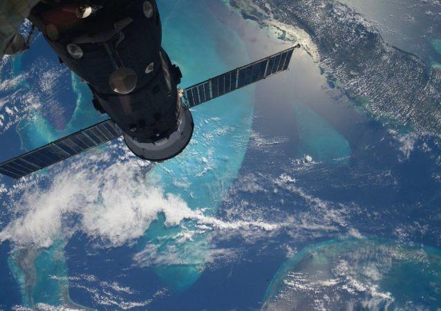 Fotografía hecha desde el espacio (archivo)