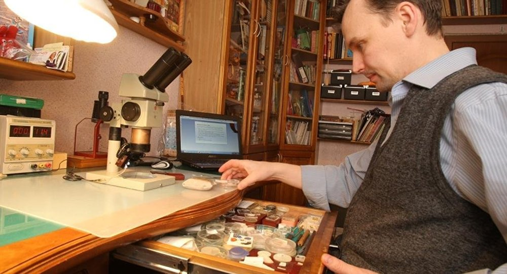Vladímir Aniskin, miniaturista siberiano