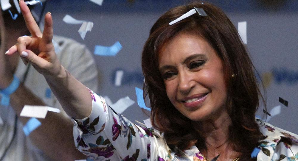 Cristina Fernández de Kirchner gana en las elecciones de 2007