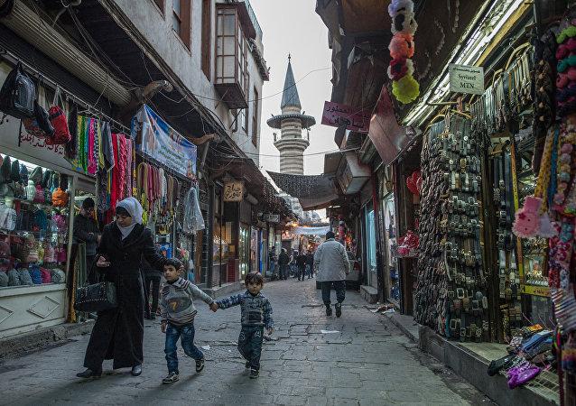 Damasco pacífico