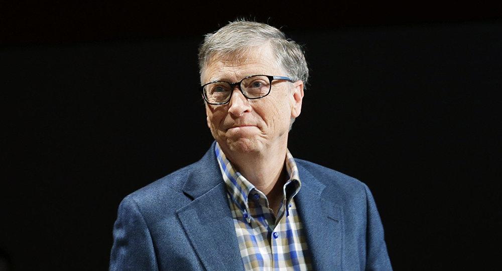 Bill Gates, cofundador de Microsoft y el hombre más rico del mundo
