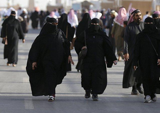 Las mujeres en Arabia Saudí (archivo)