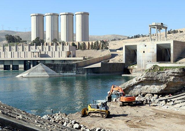 La presa Saddam en Irak
