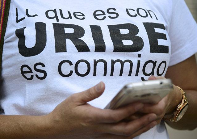 Partidario de Santiago Uribe