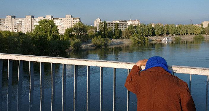 La ciudad de Tiráspol en Transnistria