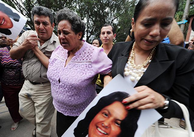 Los familiares de Berta Cáceres
