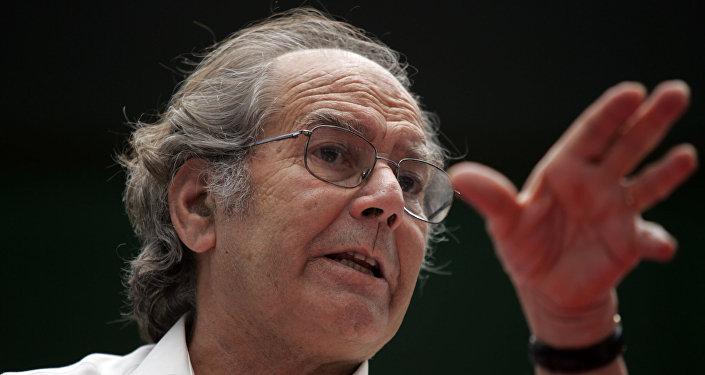 Adolfo Pérez Esquivel, Premio Nobel de la Paz 1980 (archivo)