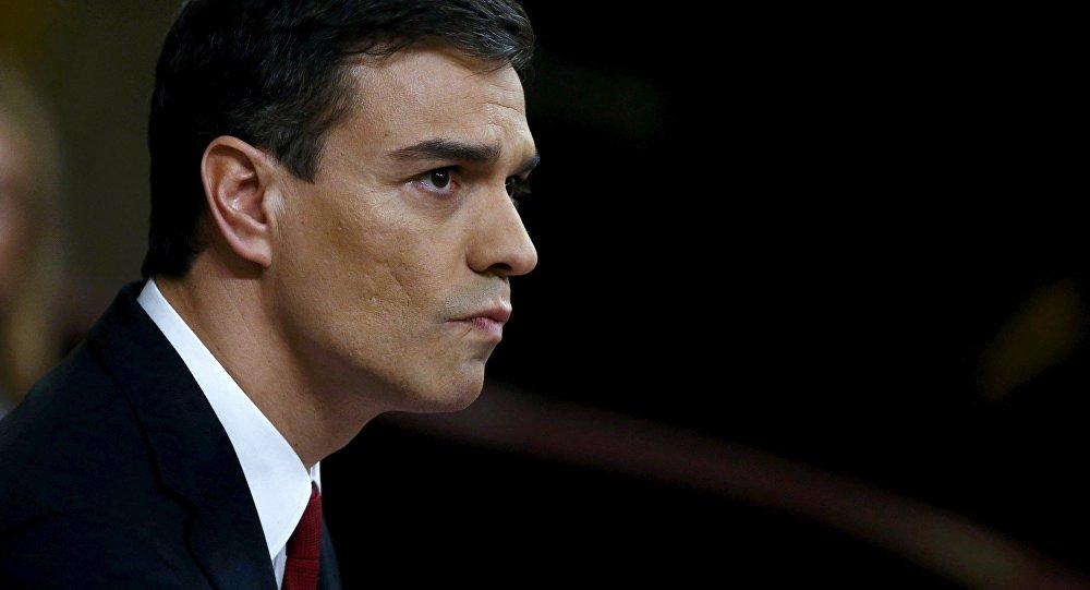Pedro Sánchez, Jefe del Gobierno español (arcfhivo)