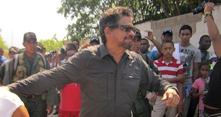 Iván Márquez, uno de los líderes de las FARC (archivo)