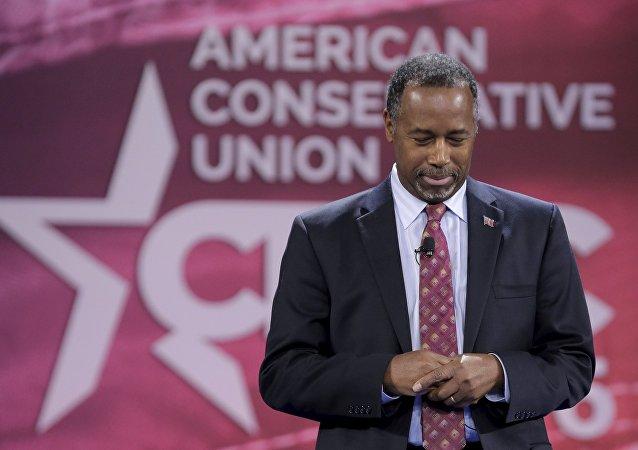 Ben Carson, candidato a la presidencia de EEUU