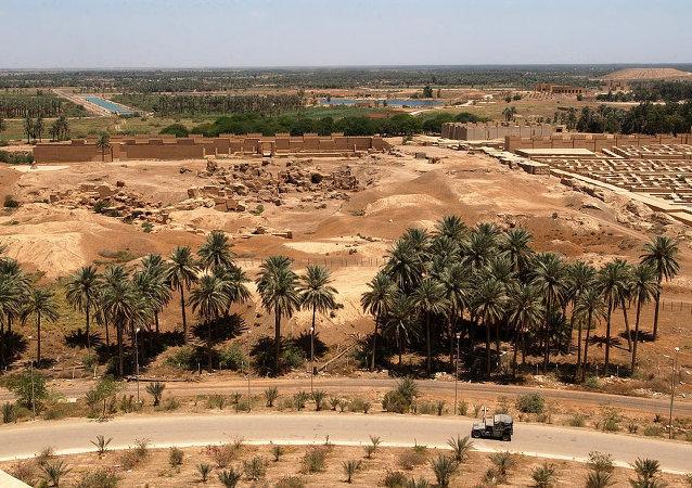 Babilonia, Irak (archivo)