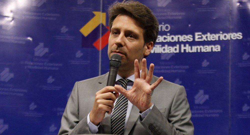 Ministro de Exteriores de Ecuador, Guillaume Long