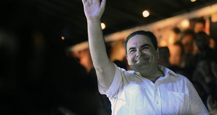 Expresidente de El Salvador, Elías Antonio Saca (archivo)