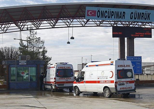La ciudad fronteriza turca de Kilis