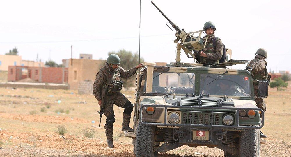 Soldados tunecinos (archivo)