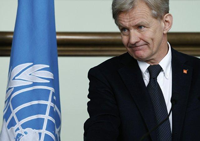 Jan Egeland, el coordinador humanitario del Enviado Especial de la ONU para Siria