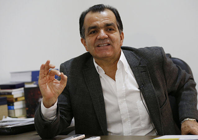 El excandidato presidencial Óscar Iván Zuluaga