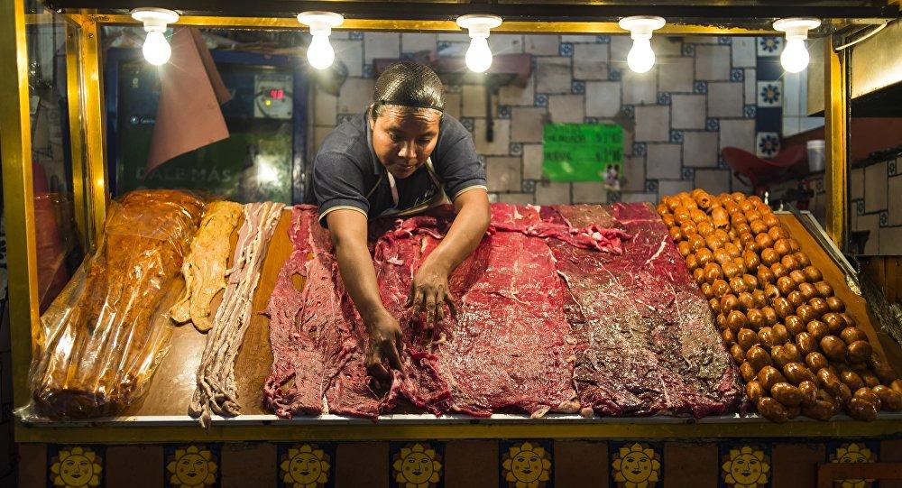 Una carnicería mexicana
