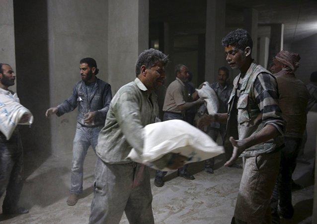 Ayuda humanitaria para Siria