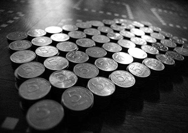 Monedas de 5 rublos