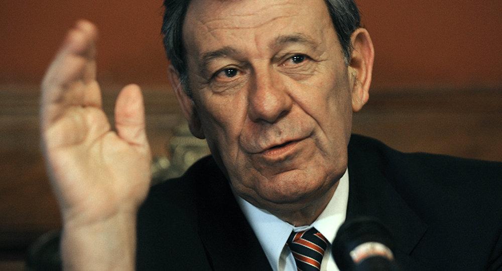 Rodolfo Nin Novoa, ministro de Exteriores de Uruguay (archivo)