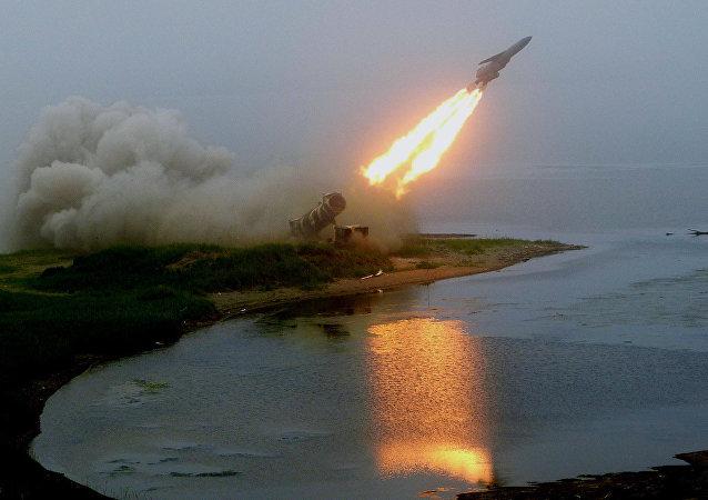 Prueba de un misil