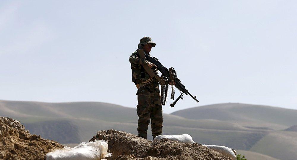 Un soldado del Ejército afgano (archivo)