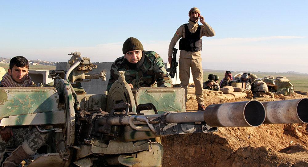 Militantes kurdos en Irak (archivo)