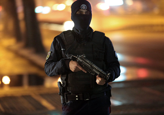Un policía turco (archivo)