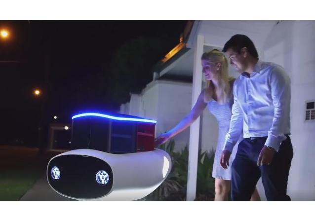 Un robot-repartidor de pizza aparecerá en Nueva Zelanda