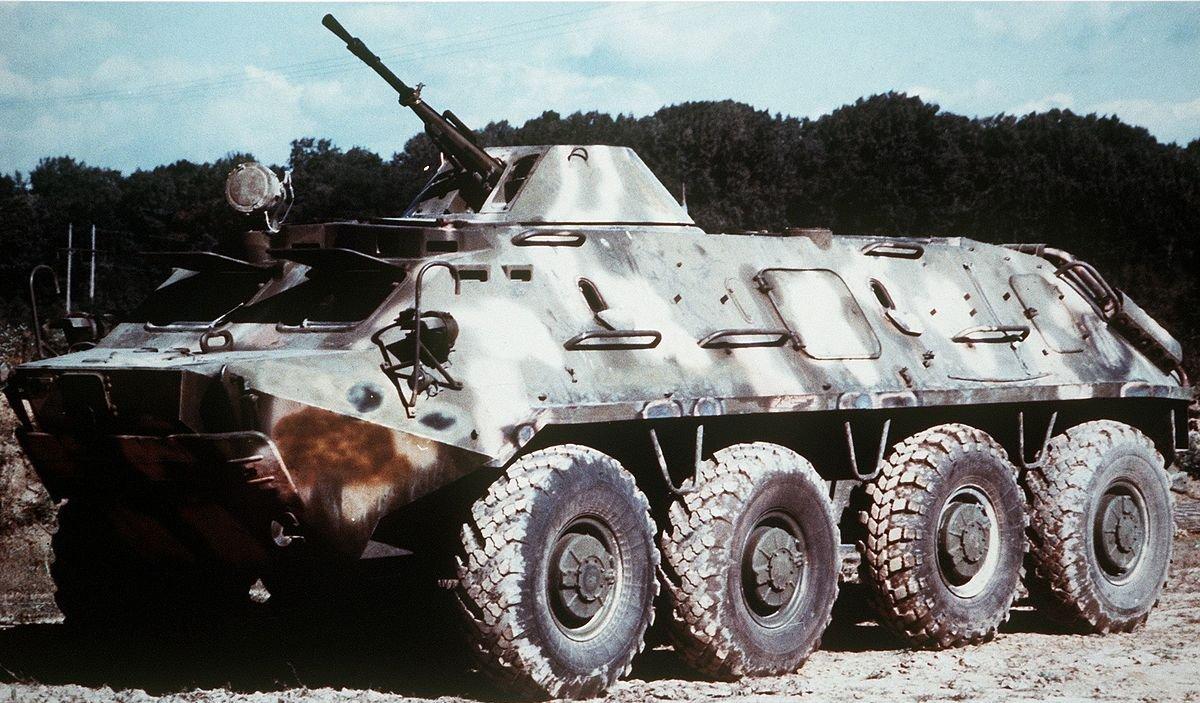 El BTR-60, la inspiración del Burlak