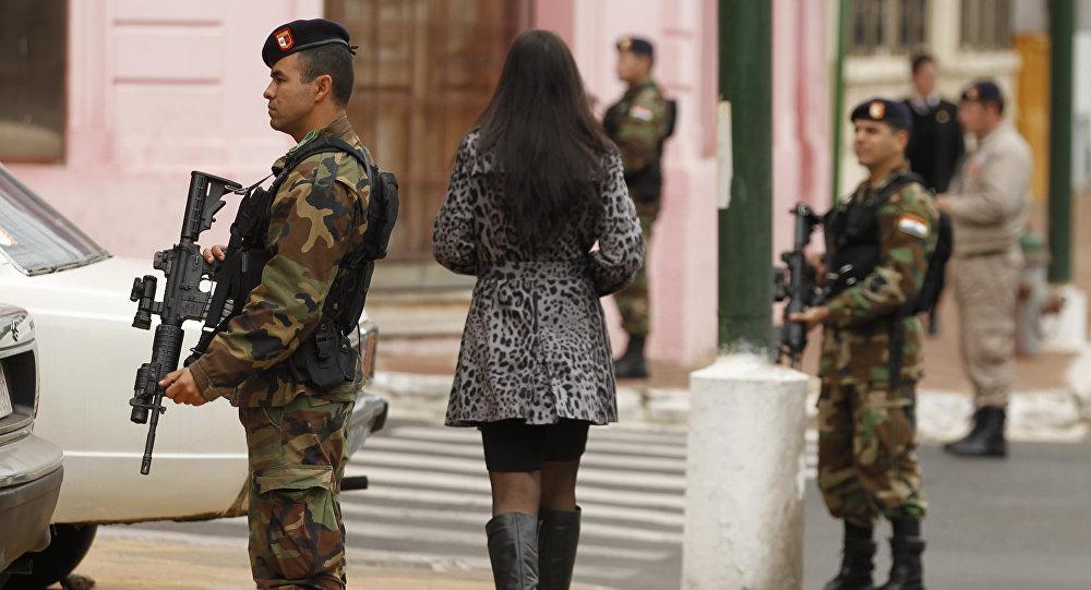Militares paraguayos (archivo)