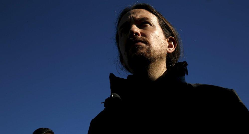 Pablo Iglesias, líder del partido español Podemos