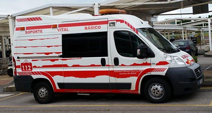 Ambulancia española