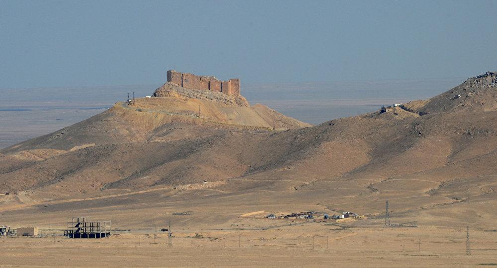 Situación en Palmira, Siria