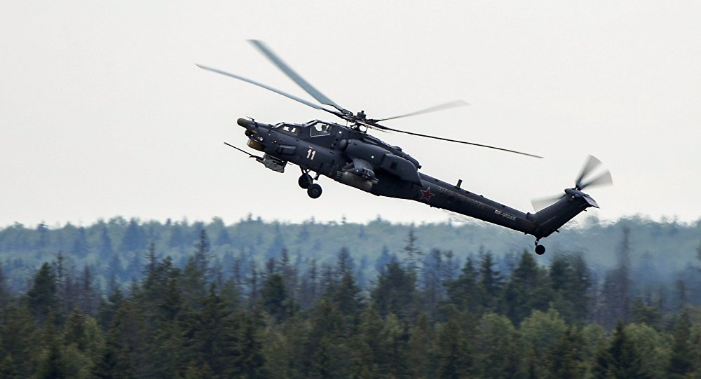Helicóptero ruso de combate Cazador Nocturno