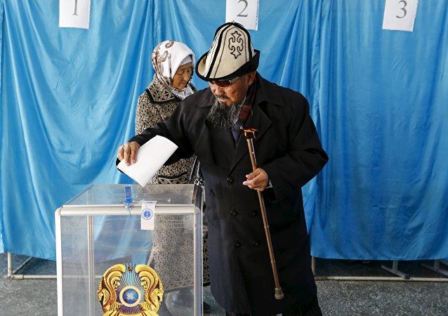 Las elecciones parlamentarias en Kazajistán