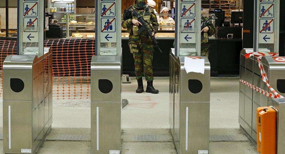 El metro de Bruselas (archivo)