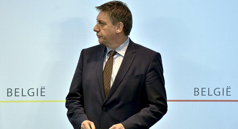 Jan Jambon, el ministro de Interiores belga