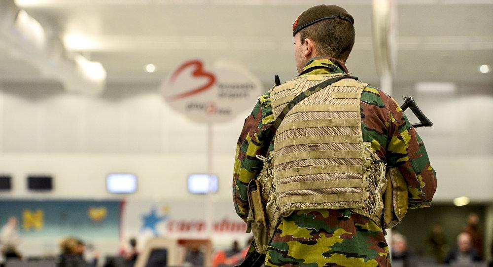 Aeropuerto en Bruselas